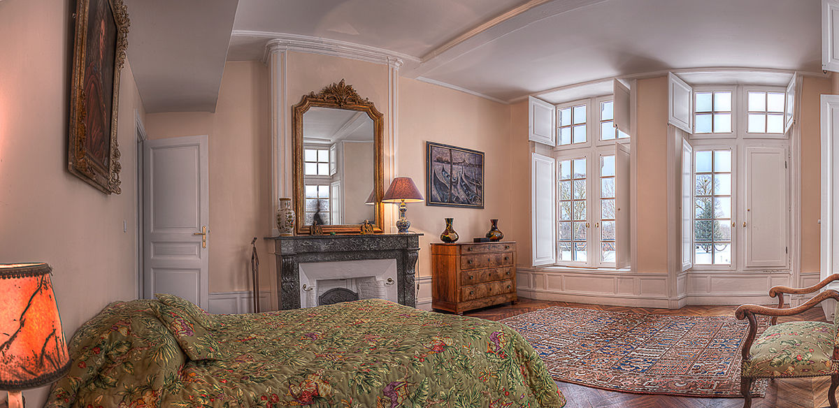 Château de Feligonde Chambre tilleul