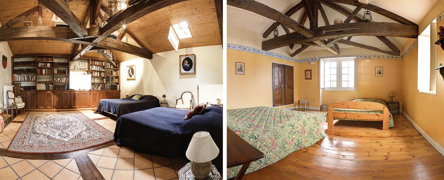 Château de Feligonde chambre mimosa