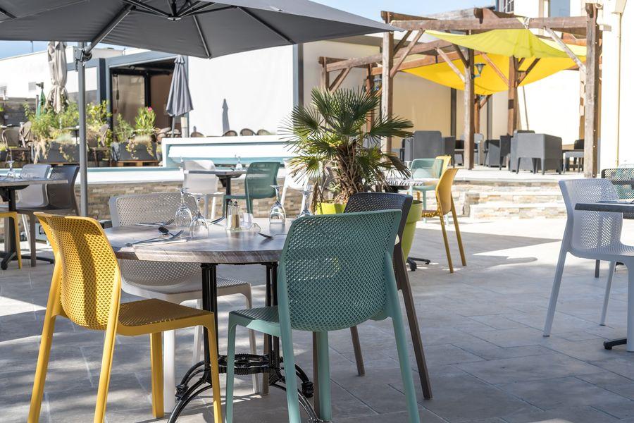 BRIT HOTEL Angers Parc Expo – L'Acropole *** Terrasse