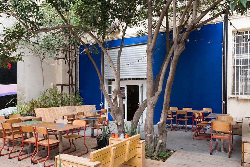 Coco Velten - 5 espaces privatisables La terrasse de la Cantine