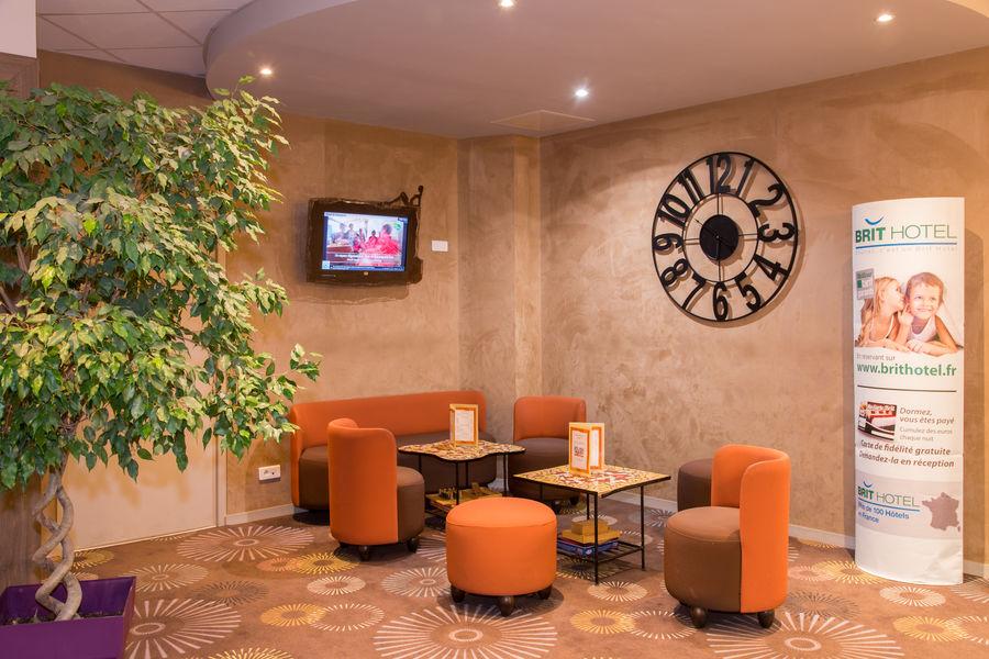 Brit Hotel Tours Sud – Le Cheops *** Salon détente