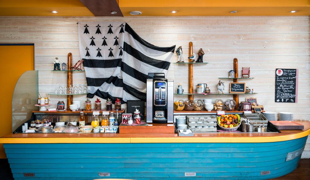 Brit Hotel Saint Malo - Le Transat *** Petit-déjeuner buffet