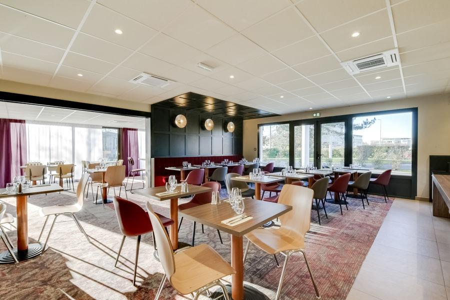 Brit Hotel Caen Nord Memorial *** Restaurant Le 36