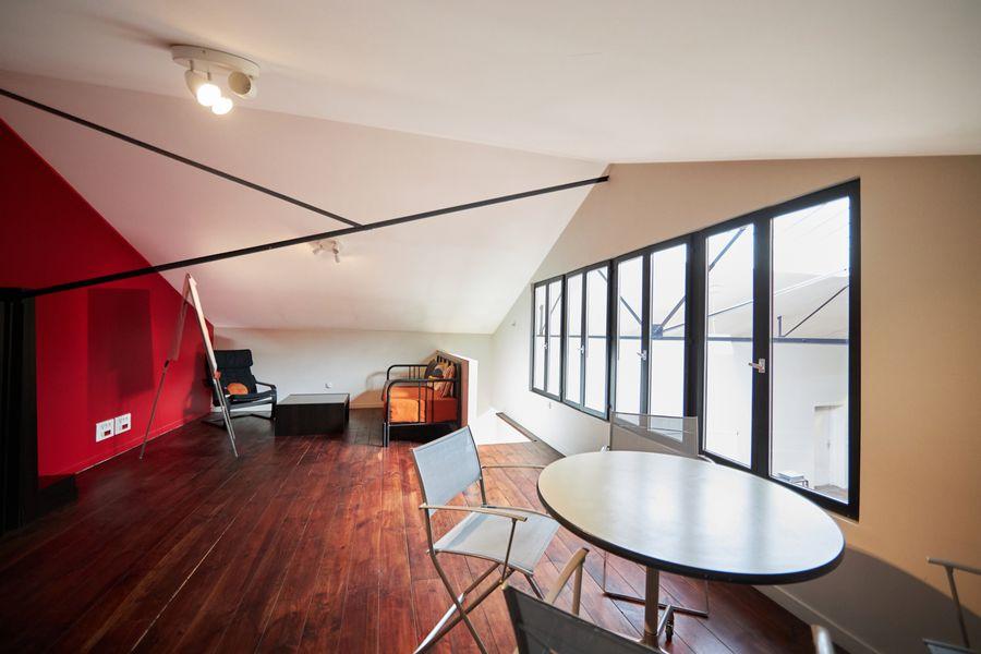 La Sphère Loft mezzanine vue 2