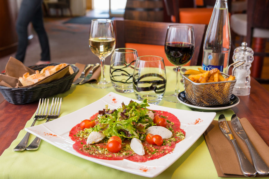 Brit Hotel Nantes Saint Herblain - Le Kerann *** Restaurant le Kerann