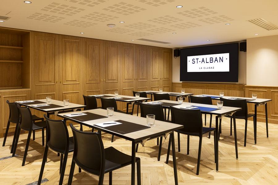 St-Alban Hotel & Spa Salle de séminaire
