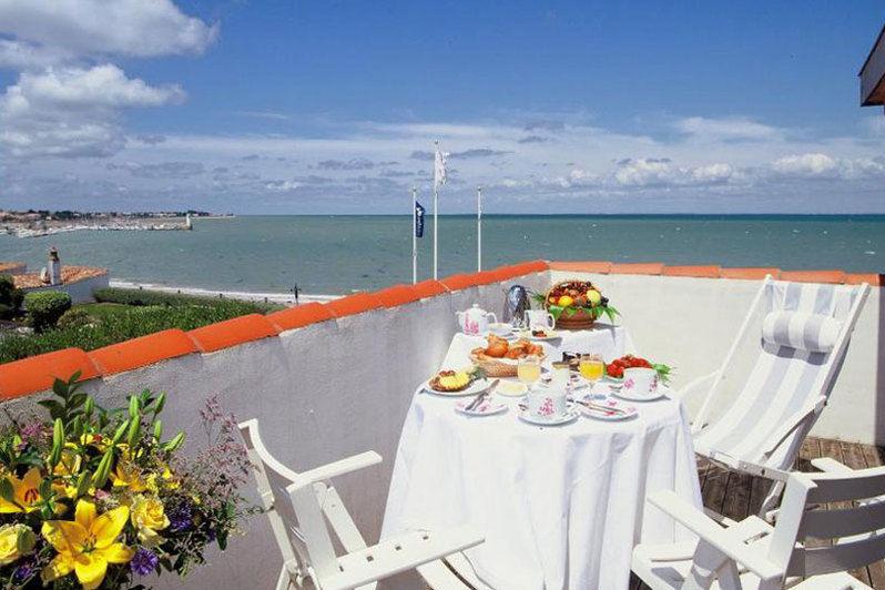 Le Richelieu Terrasse avec vue mer