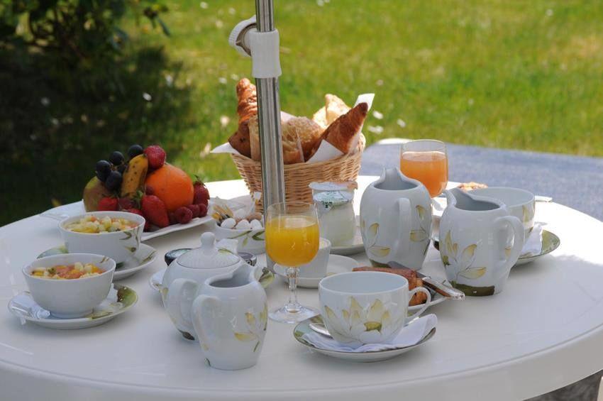 Le Richelieu Petit-déjeuner terrasse