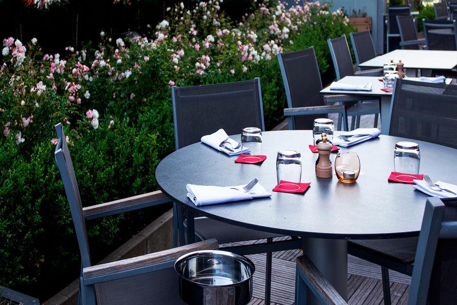 Holiday Inn Mulhouse**** Terrasse restaurant - Brasserie K