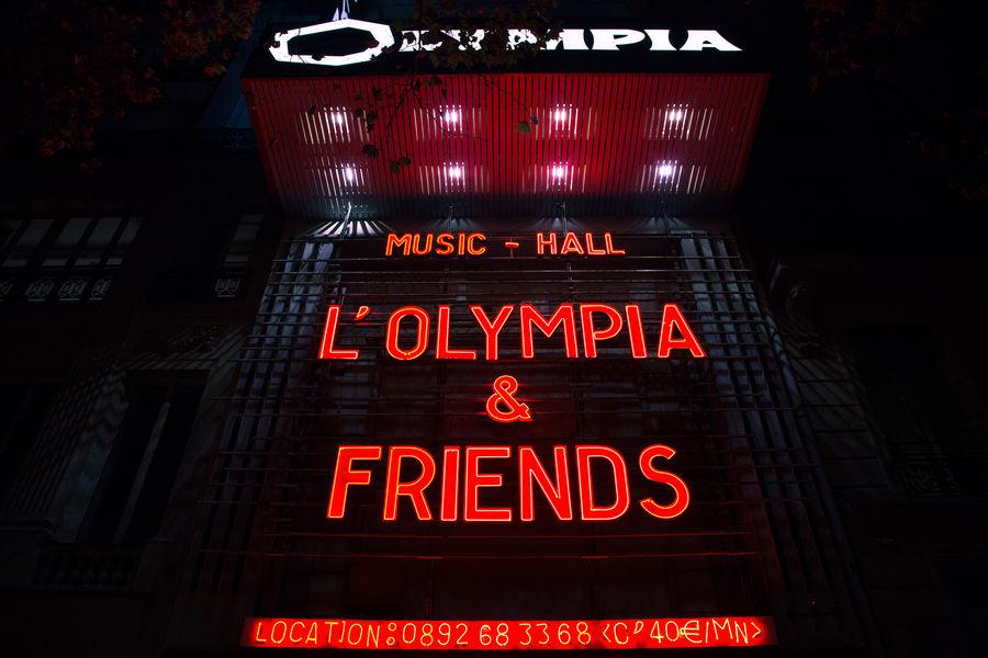 Le Studio à L'Olympia L'Olympia