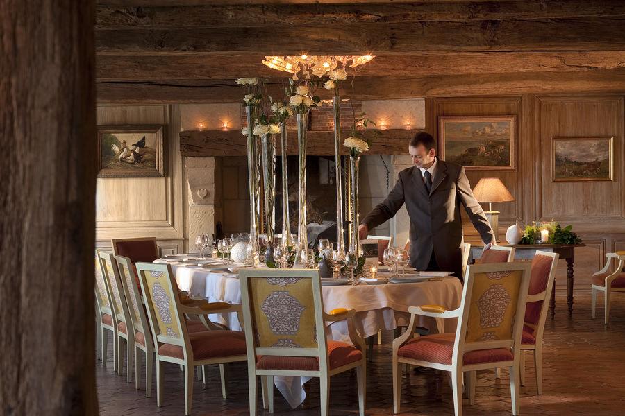 Ferme Saint Siméon ***** Restaurant gastronominque Les Impressionnistes