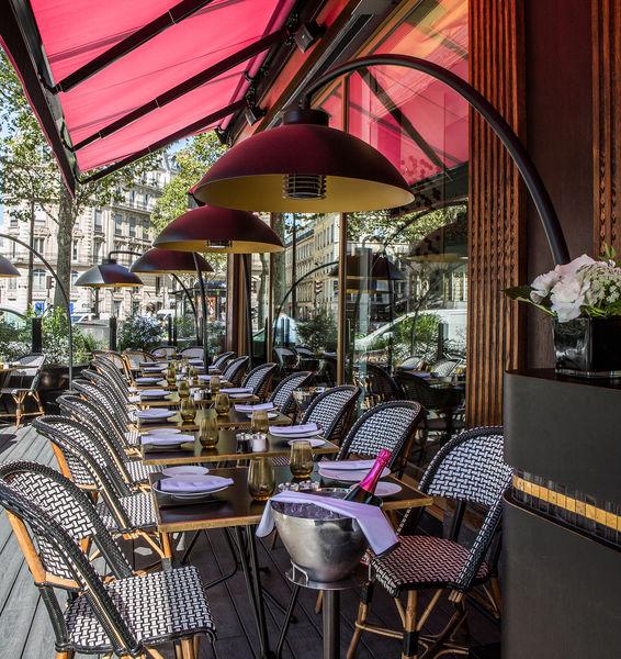 Fauchon L'Hôtel Paris ***** Grand Café Fauchon - Terrasse