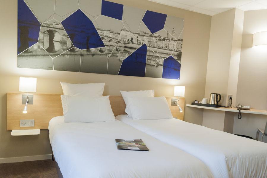 Brit Hotel Mâcon Centre Gare *** Chambre Cosy twin