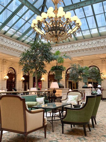 Hôtel Intercontinental Paris Le Grand *****, IHG Verrière