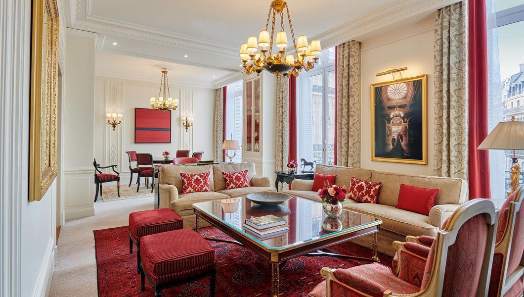 Hôtel Intercontinental Paris Le Grand *****, IHG Suite Royale