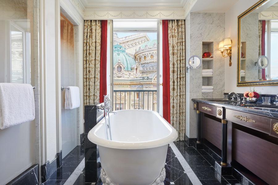 Hôtel Intercontinental Paris Le Grand *****, IHG Suite Royale Salle de bain