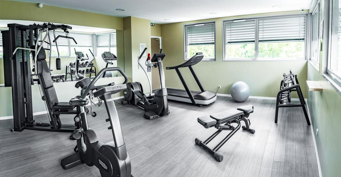 Quality Hôtel Belfort**** Salle de sport