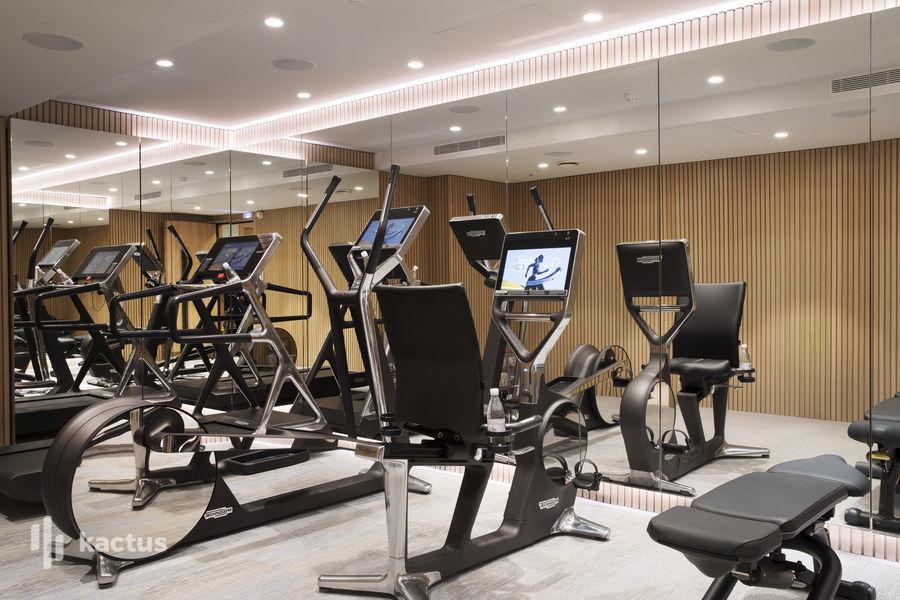 Maison Bréguet Salle de fitness
