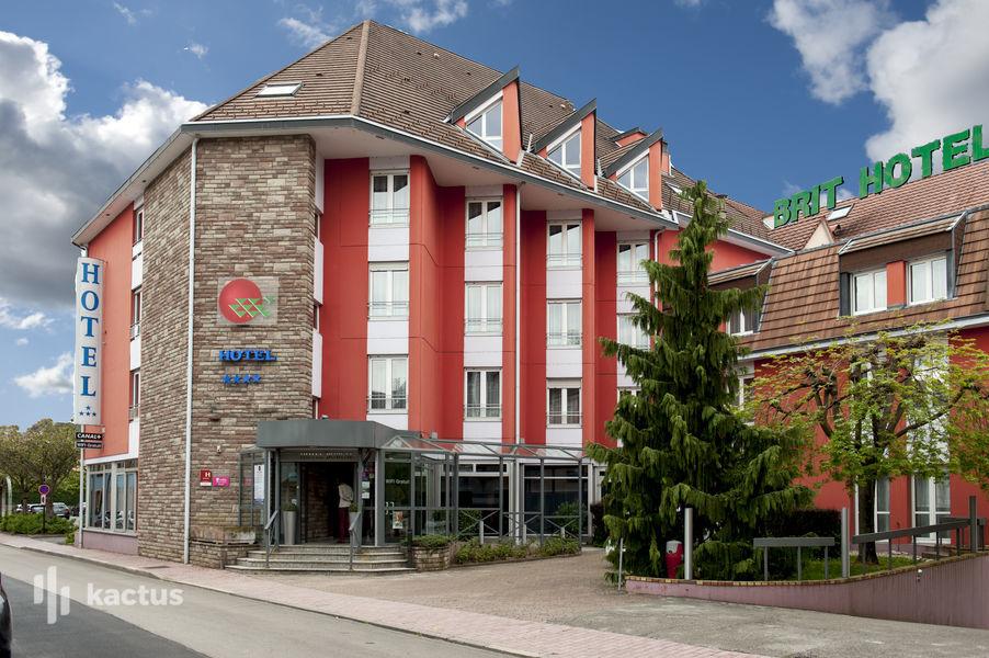 Brit Hotel Belfort Centre **** Extérieur de l'hôtel