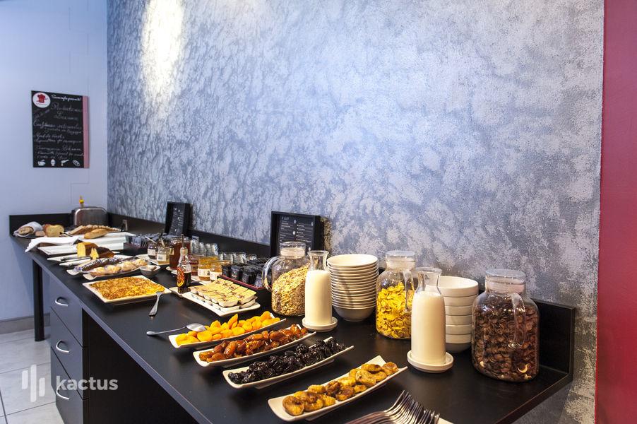 Brit Hotel Belfort Centre **** Buffet petit déjeuner
