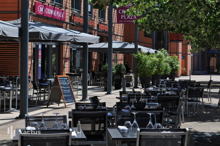 Crowne Plaza Lyon Cité Internationale ****, IHG Restaurant Le Bistrot Rive Gauche - terrasse privatisable