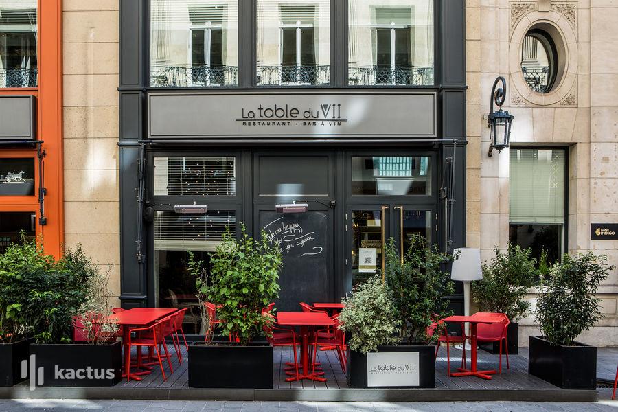 "Hôtel Indigo Paris - Opéra, IHG Restaurant ""la Table du 7"""