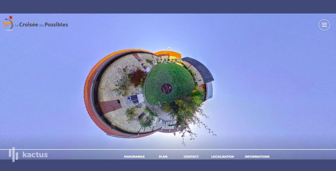 La Croisée des Possibles Visite de La Croisée des Possibles à 360°