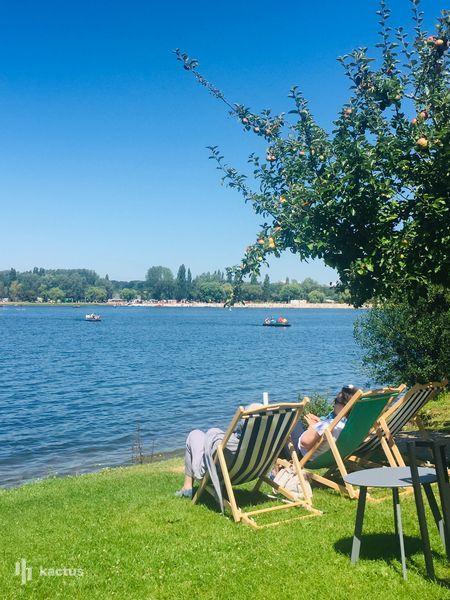 Eden Park Hotel *** Restaurant Terrasse coté lac