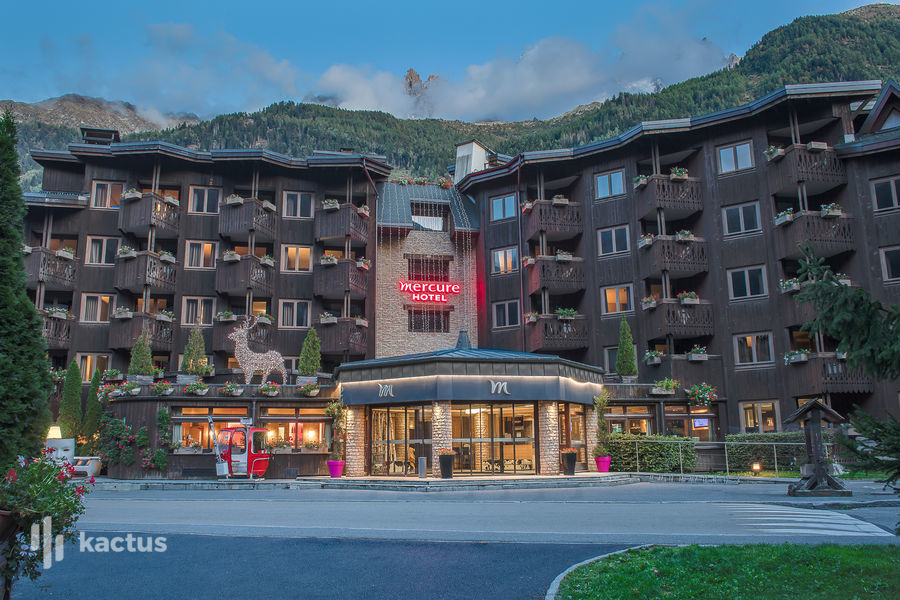 Mercure Chamonix Centre **** Extérieur de l'hôtel