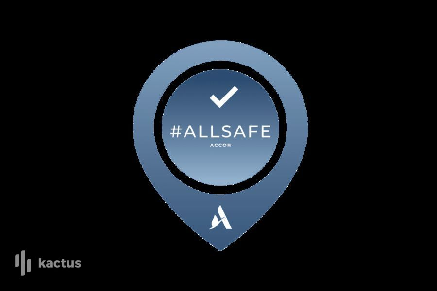 Mercure Beaune Centre **** ALL SAFE, label de propreté et de prévention ACCOR, élaboré et approuvé par Bureau Veritas
