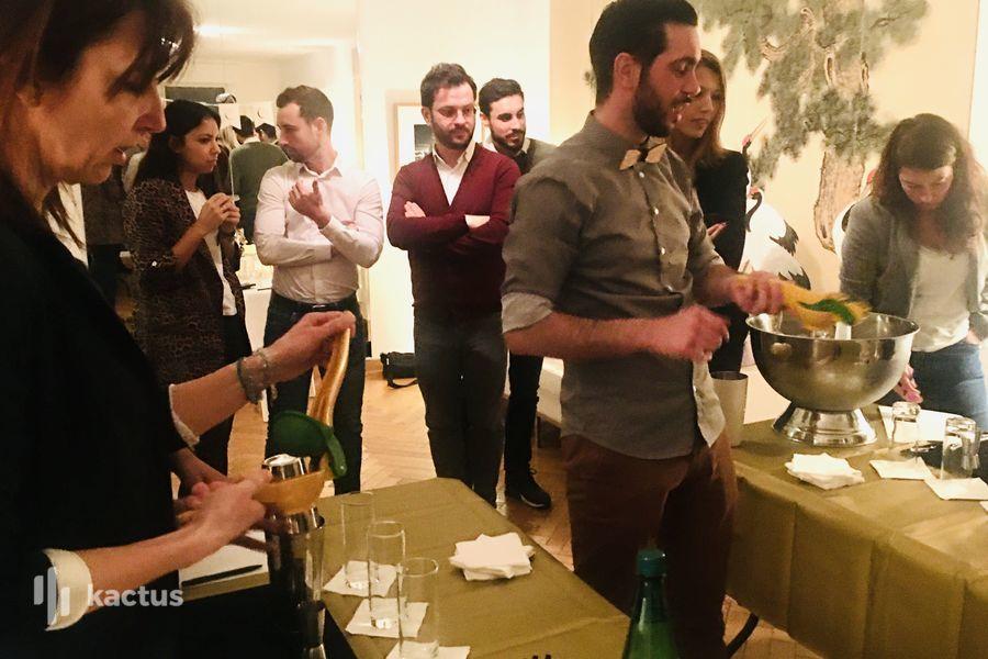 Luxe discret, nature apaisante et culture Cocktail Party