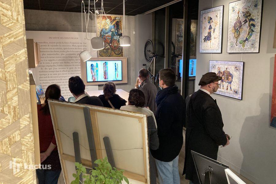 La Galerie QUARTUS Vernissage Pep's Art 1