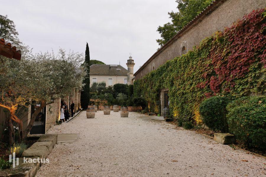 Château de Granoupiac La cour d'honneur