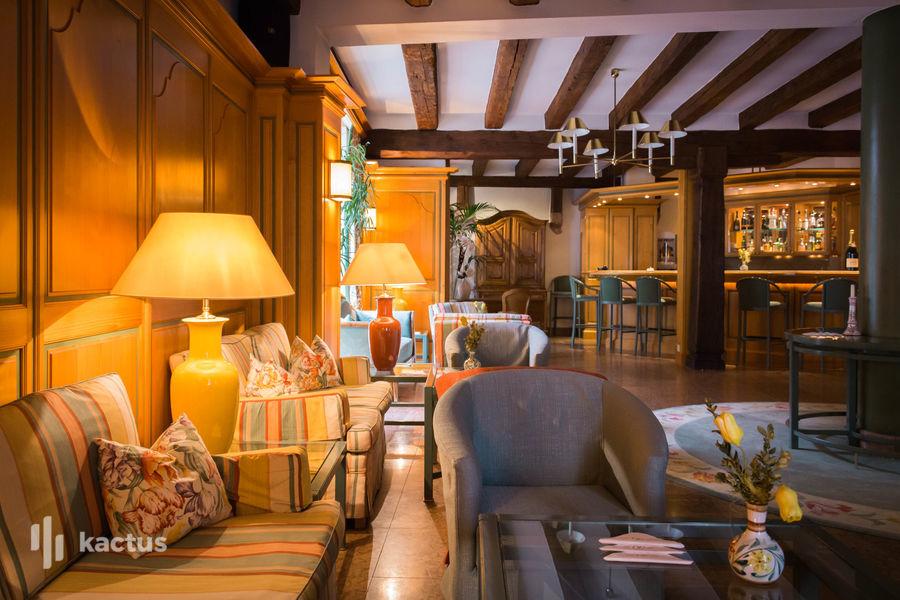 Hôtel À La Cour d'Alsace **** Lucas Bar
