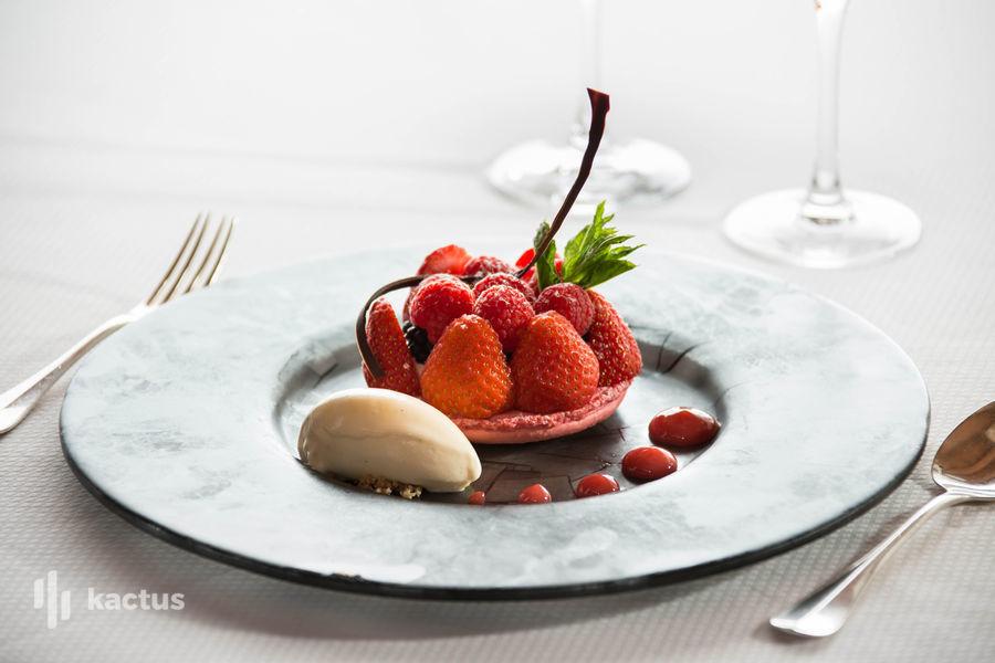 Hôtel À La Cour d'Alsace **** Dessert