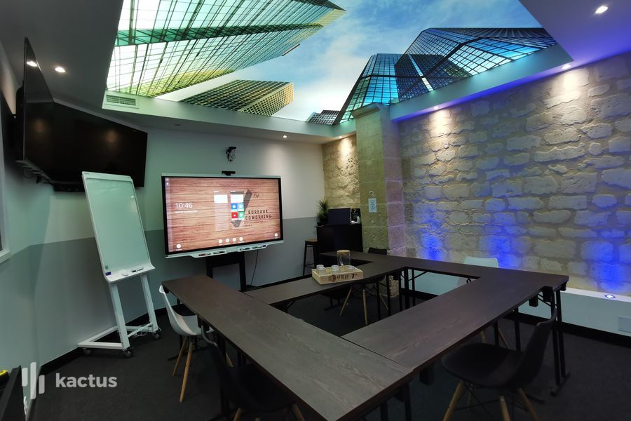 Seven Coworking Salle de Réunion - Meeting Room