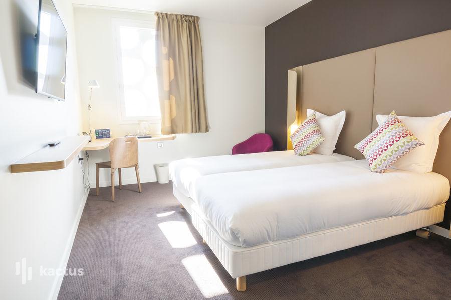 Hôtel Belaroïa Golden Tulip et Campanile Montpellier Centre Chambre twin Campanile ***