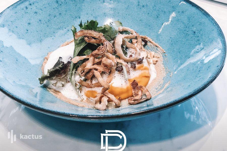 Hôtel Belaroïa Golden Tulip et Campanile Montpellier Centre Détail plat restaurant Chez Delagare