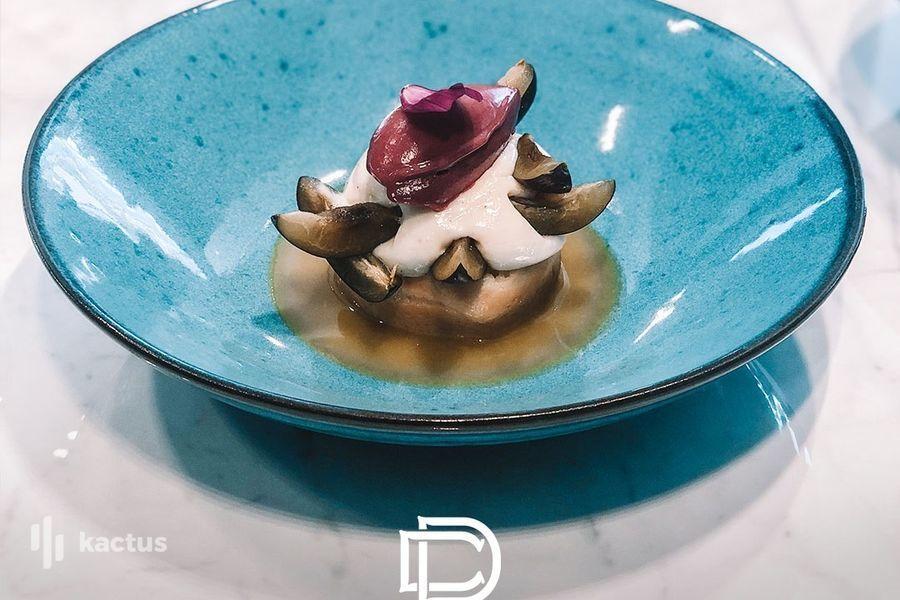 Hôtel Belaroïa Golden Tulip et Campanile Montpellier Centre Détail dessert restaurant Chez Delagare