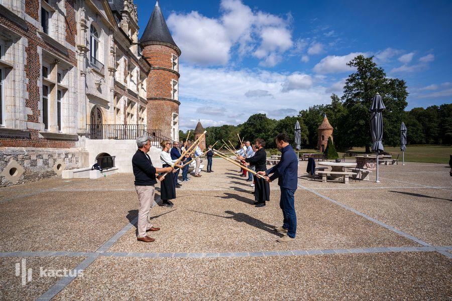Château de Tilly Team Building - Séminaire - Chateau