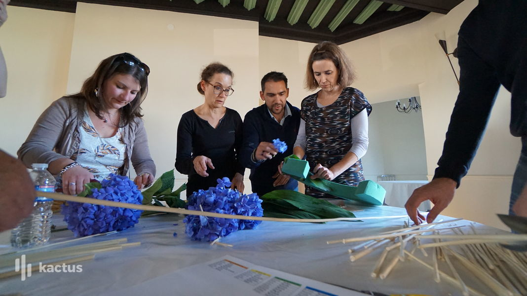 Château de Tilly Atelier Floral - Team Building- Chateau - Tilly