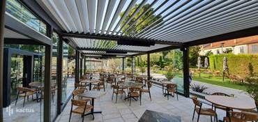 Aquabella Hôtel & Spa **** Pergola bioclimatique du restaurant