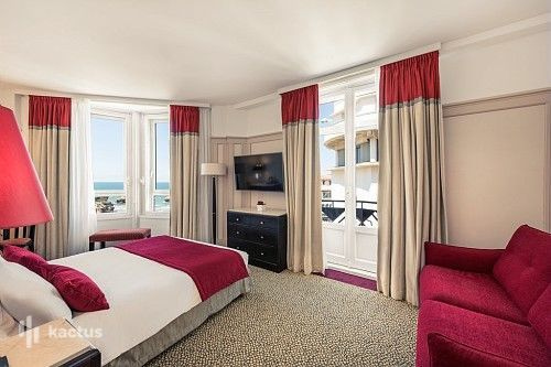 Mercure Biarritz Centre Plaza**** La Chambre Privilège Vue Mer