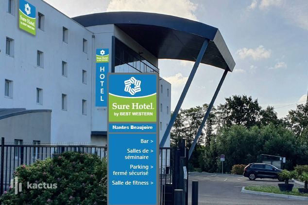 SURE HOTEL BY BEST WESTERN NANTES BEAUJOIRE *** Facade