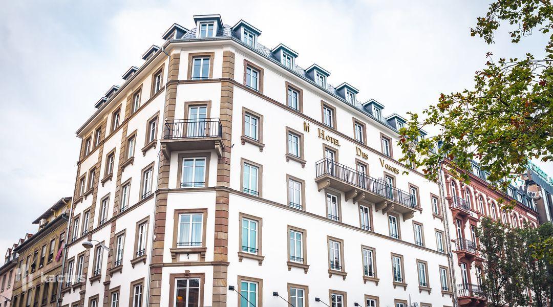Hôtel des Vosges Strasbourg****  Façade