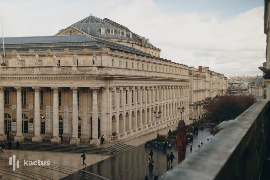 Centre de Performances Blacon avec vue donnant sur le Grand-Théâtre