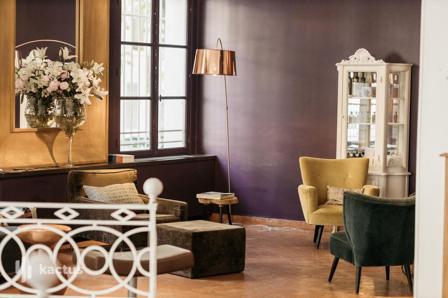 Boutique Hôtel Cezanne Accueil