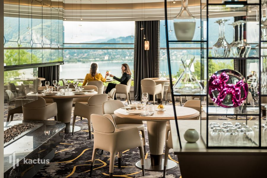 Les Trésoms Hôtel & Spa **** Rotonde - Restaurant Gastronomique