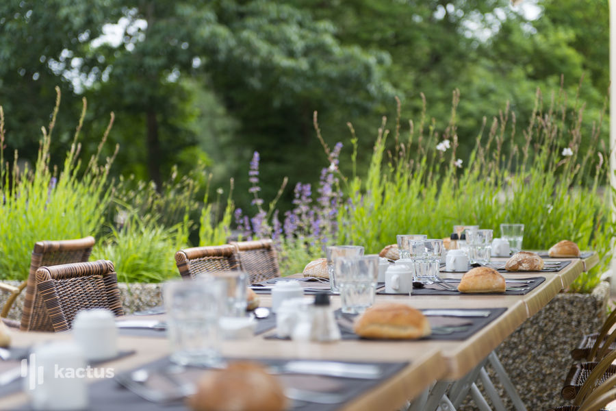 Les Jardins de l'Anjou  Terrasse