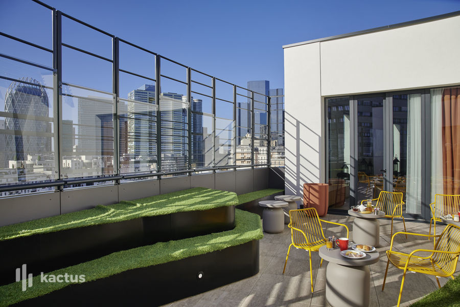 Hôtel Mercure Paris La Défense **** Terrasse Rooftop - Le XII